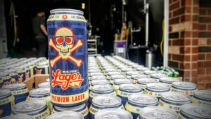 Major Lager 16oz can