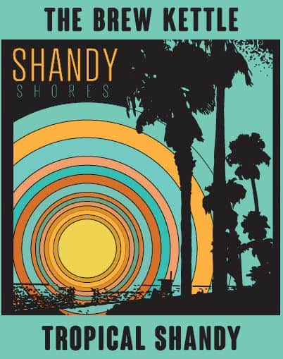 Shandy Shores Blood Orange Shandy