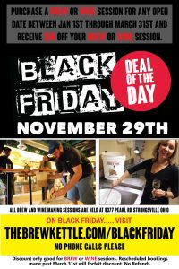 Black Friday Deal at The Brew Kettle Strongsville