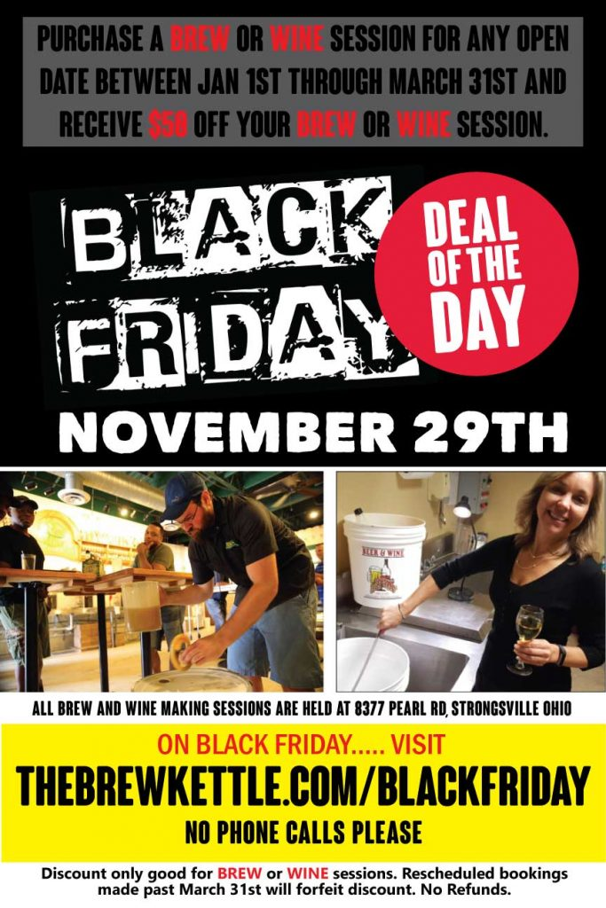 Black Friday Deal 2019 The Brew Kettle