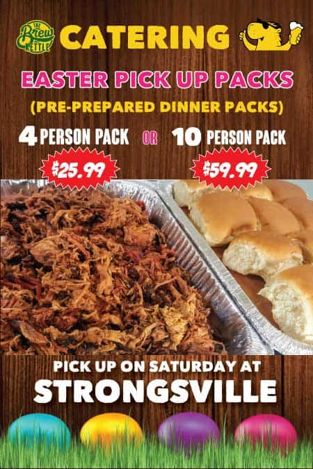 Easter Pick Up Packs Catering