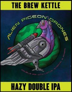 Alien Pigeon Drone