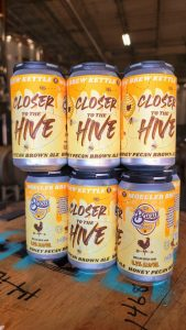 Closer To The Hive Honey Nut Brown Ale