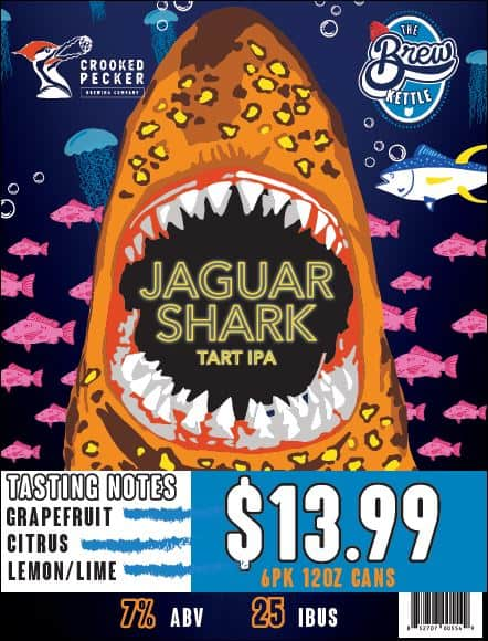 Jaguar Shark - A Tart IPA