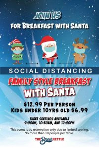 Breakfast With Santa At The Brew Kettle